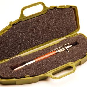 Rifle Pen Case Box – O D Green Rifle Pen Case