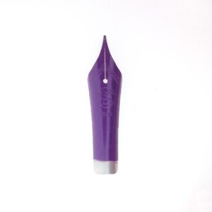 Peter Bock Fountain Pen Nib – 6mm Purple Lacquer