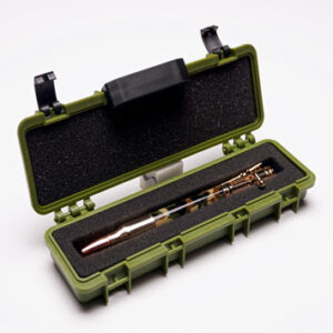 Tactical Rifle Case Pen Box – O D Green Tactical Rifle Pen Case