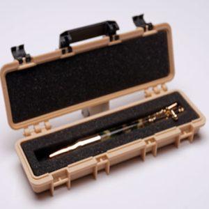 Tactical Rifle Case Pen Box – Desent Tan Tactical Rifle Pen Case